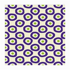 Circle Purple Green White Medium Glasses Cloth by Alisyart