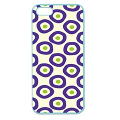 Circle Purple Green White Apple Seamless Iphone 5 Case (color) by Alisyart