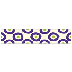 Circle Purple Green White Flano Scarf (small) by Alisyart