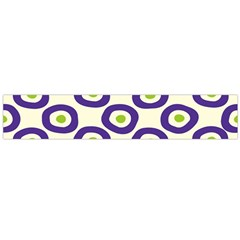 Circle Purple Green White Flano Scarf (large) by Alisyart