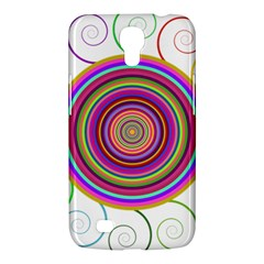Abstract Spiral Circle Rainbow Color Samsung Galaxy Mega 6 3  I9200 Hardshell Case by Alisyart