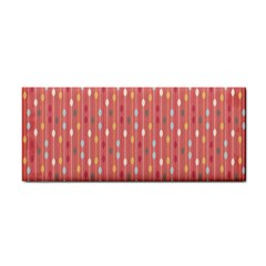 Circle Red Freepapers Paper Cosmetic Storage Cases by Alisyart
