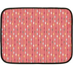 Circle Red Freepapers Paper Double Sided Fleece Blanket (mini)  by Alisyart