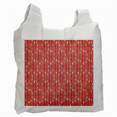 Circle Red Freepapers Paper Recycle Bag (one Side) by Alisyart
