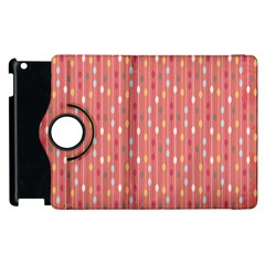 Circle Red Freepapers Paper Apple Ipad 2 Flip 360 Case by Alisyart