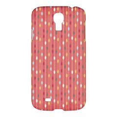 Circle Red Freepapers Paper Samsung Galaxy S4 I9500/i9505 Hardshell Case by Alisyart