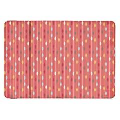 Circle Red Freepapers Paper Samsung Galaxy Tab 8 9  P7300 Flip Case
