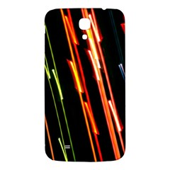 Colorful Diagonal Lights Lines Samsung Galaxy Mega I9200 Hardshell Back Case by Alisyart