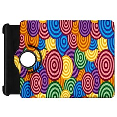 Circles Color Yellow Purple Blu Pink Orange Illusion Kindle Fire Hd 7  by Alisyart