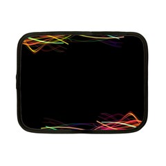Colorful Light Frame Line Netbook Case (small)  by Alisyart