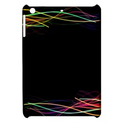 Colorful Light Frame Line Apple Ipad Mini Hardshell Case by Alisyart