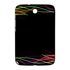 Colorful Light Frame Line Samsung Galaxy Note 8 0 N5100 Hardshell Case  by Alisyart