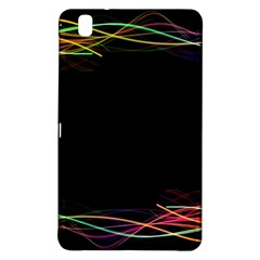 Colorful Light Frame Line Samsung Galaxy Tab Pro 8 4 Hardshell Case by Alisyart