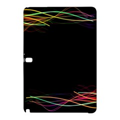 Colorful Light Frame Line Samsung Galaxy Tab Pro 12 2 Hardshell Case by Alisyart
