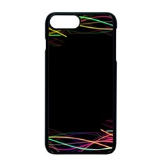 Colorful Light Frame Line Apple Iphone 7 Plus Seamless Case (black) by Alisyart