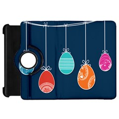 Easter Egg Balloon Pink Blue Red Orange Kindle Fire Hd 7  by Alisyart