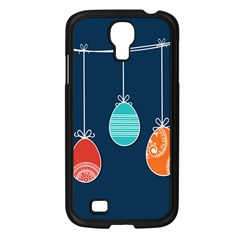 Easter Egg Balloon Pink Blue Red Orange Samsung Galaxy S4 I9500/ I9505 Case (black) by Alisyart