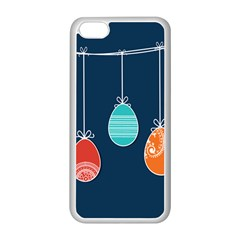 Easter Egg Balloon Pink Blue Red Orange Apple Iphone 5c Seamless Case (white) by Alisyart