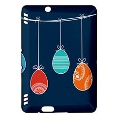 Easter Egg Balloon Pink Blue Red Orange Kindle Fire Hdx Hardshell Case by Alisyart