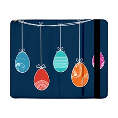Easter Egg Balloon Pink Blue Red Orange Samsung Galaxy Tab Pro 8 4  Flip Case by Alisyart