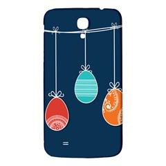Easter Egg Balloon Pink Blue Red Orange Samsung Galaxy Mega I9200 Hardshell Back Case by Alisyart