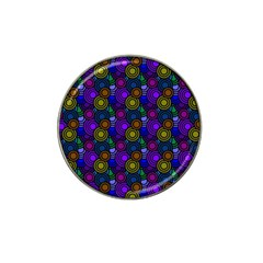 Circles Color Yellow Purple Blu Pink Orange Hat Clip Ball Marker (4 Pack) by Alisyart