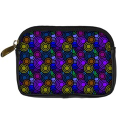 Circles Color Yellow Purple Blu Pink Orange Digital Camera Cases by Alisyart