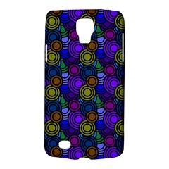 Circles Color Yellow Purple Blu Pink Orange Galaxy S4 Active by Alisyart