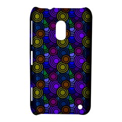 Circles Color Yellow Purple Blu Pink Orange Nokia Lumia 620 by Alisyart