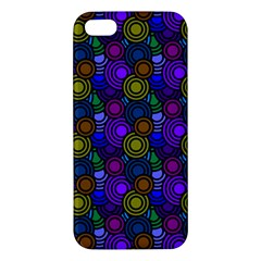 Circles Color Yellow Purple Blu Pink Orange Iphone 5s/ Se Premium Hardshell Case by Alisyart
