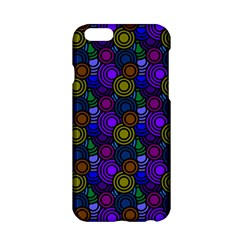 Circles Color Yellow Purple Blu Pink Orange Apple Iphone 6/6s Hardshell Case by Alisyart