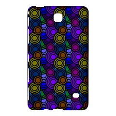 Circles Color Yellow Purple Blu Pink Orange Samsung Galaxy Tab 4 (7 ) Hardshell Case  by Alisyart