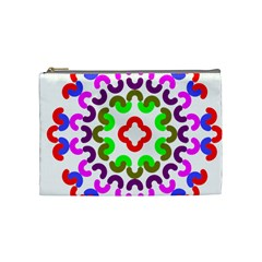 Decoration Red Blue Pink Purple Green Rainbow Cosmetic Bag (medium)  by Alisyart