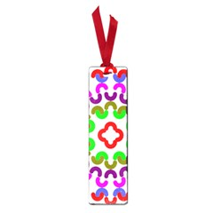 Decoration Red Blue Pink Purple Green Rainbow Small Book Marks by Alisyart