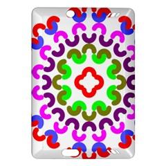 Decoration Red Blue Pink Purple Green Rainbow Amazon Kindle Fire Hd (2013) Hardshell Case by Alisyart