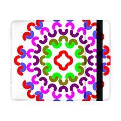 Decoration Red Blue Pink Purple Green Rainbow Samsung Galaxy Tab Pro 8 4  Flip Case by Alisyart