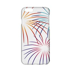 Fireworks Orange Blue Red Pink Purple Apple Iphone 6/6s Hardshell Case by Alisyart