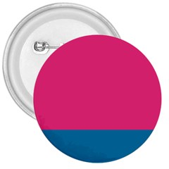 Flag Color Pink Blue 3  Buttons by Alisyart