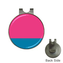Flag Color Pink Blue Hat Clips With Golf Markers by Alisyart