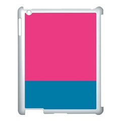 Flag Color Pink Blue Apple Ipad 3/4 Case (white) by Alisyart