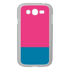 Flag Color Pink Blue Samsung Galaxy Grand DUOS I9082 Case (White) by Alisyart