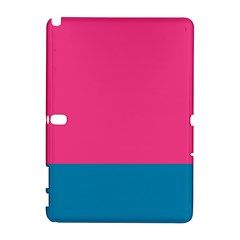 Flag Color Pink Blue Galaxy Note 1 by Alisyart