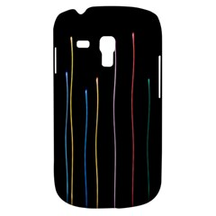 Falling Light Lines Color Pink Blue Yellow Galaxy S3 Mini by Alisyart