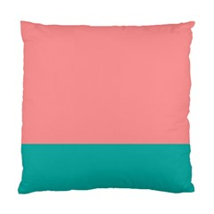 Flag Color Pink Blue Line Standard Cushion Case (two Sides) by Alisyart