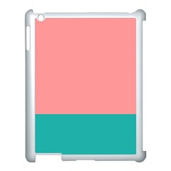 Flag Color Pink Blue Line Apple Ipad 3/4 Case (white) by Alisyart