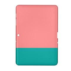 Flag Color Pink Blue Line Samsung Galaxy Tab 2 (10 1 ) P5100 Hardshell Case  by Alisyart