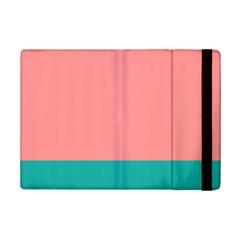 Flag Color Pink Blue Line Ipad Mini 2 Flip Cases by Alisyart