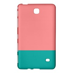 Flag Color Pink Blue Line Samsung Galaxy Tab 4 (8 ) Hardshell Case  by Alisyart