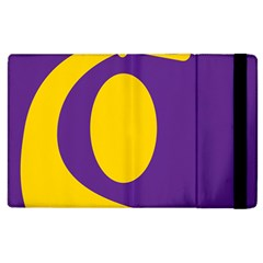 Flag Purple Yellow Circle Apple Ipad 2 Flip Case by Alisyart