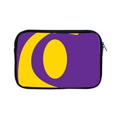 Flag Purple Yellow Circle Apple Ipad Mini Zipper Cases by Alisyart